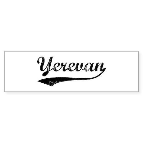 Vintage Yerevan Bumper Sticker