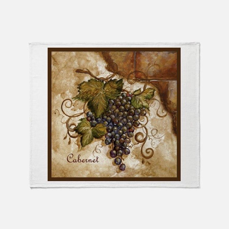 Best Seller Grape Throw Blanket