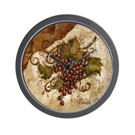 Best Seller Grape Wall Clock By The Jersey Shore Store