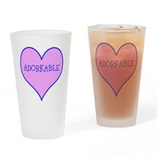 ADORKABLE Drinking Glass