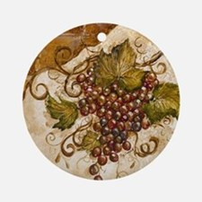 Best Seller Grape Ornament (Round)