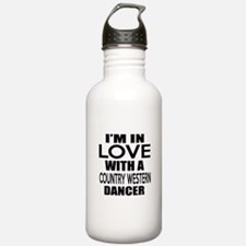 I Am In Love With Coun Water Bottle