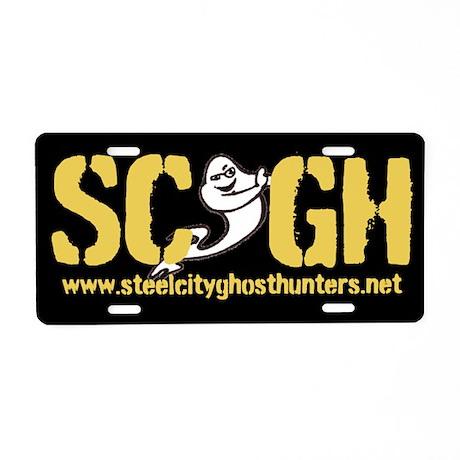SCGH License Plate