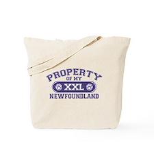 Newfoundland PROPERTY Tote Bag