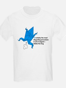 Origami Frog Kids T-Shirt