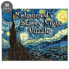 Mohammed's Starry Night Puzzle