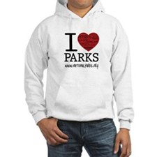 I Heart Parks Unisex Hoodie