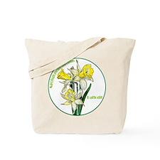 The Spring Daffodil Tote Bag