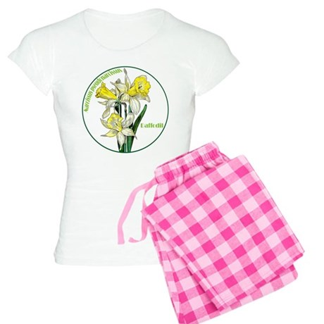 The Spring Daffodil Women's Light Pajamas