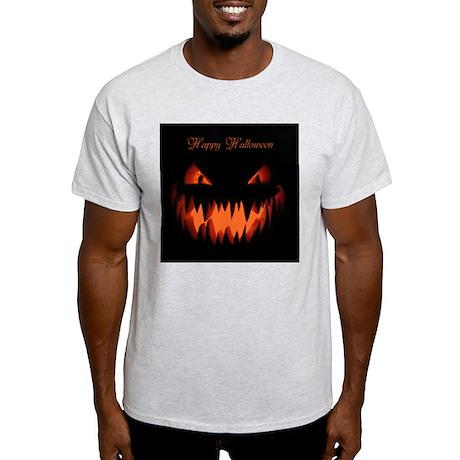 Happy Halloween Pumpkin Light T-Shirt