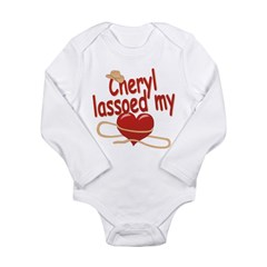 Cheryl Lassoed My Heart Long Sleeve Infant Bodysui