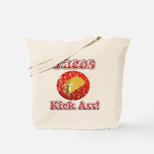 Vintage Tacos Kick Ass Tote Bag