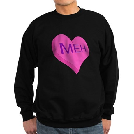 Anti Valentine Candy Meh Sweatshirt (dark)