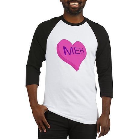 Anti Valentine Candy Meh Baseball Jersey