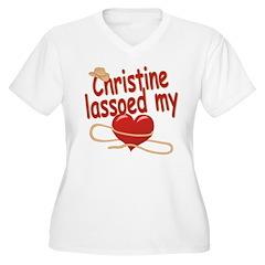Christine Lassoed My Heart T-Shirt