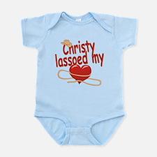 Christy Lassoed My Heart Infant Bodysuit