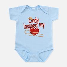 Cindy Lassoed My Heart Infant Bodysuit