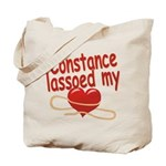 Constance Lassoed My Heart Tote Bag