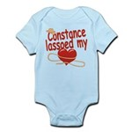 Constance Lassoed My Heart Infant Bodysuit