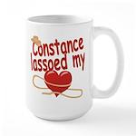 Constance Lassoed My Heart Large Mug