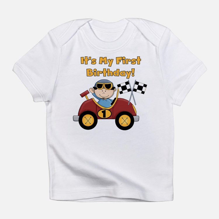 Cute First race Infant T-Shirt