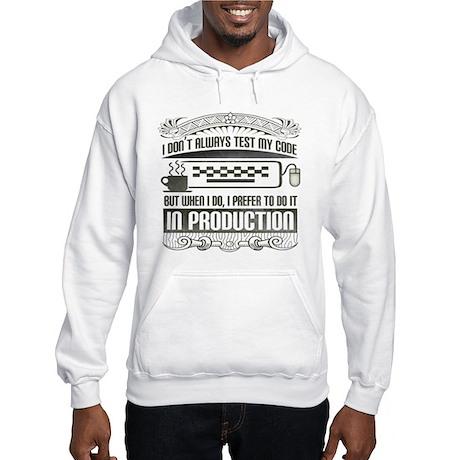 Test My Code Hooded Sweatshirt