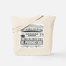 Test My Code Tote Bag