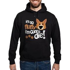 It's So Fluffy I'm Gonna Die Hoodie (dark)