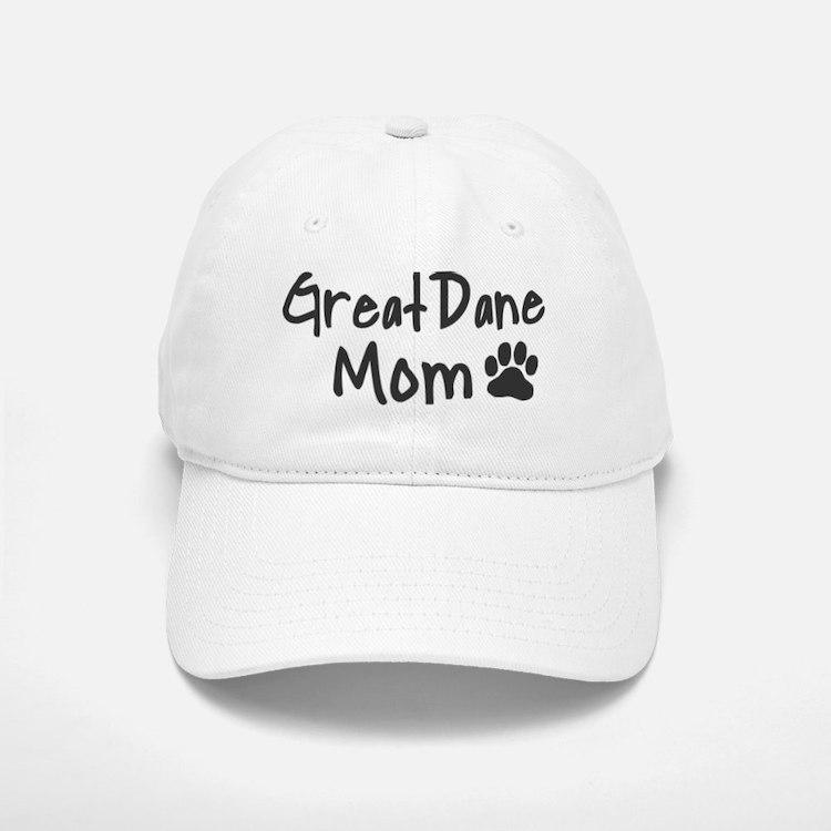 Great Dane MOM Baseball Baseball Cap