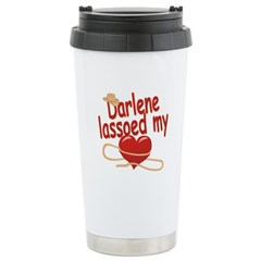 Darlene Lassoed My Heart Travel Mug