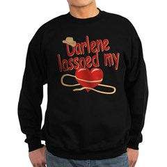 Darlene Lassoed My Heart Sweatshirt