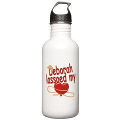 Deborah Lassoed My Heart Water Bottle
