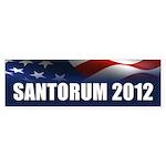Santorum Sticker (Bumper)