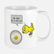 Chicken Fried Egg Humor Mug