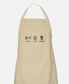 Peace, Love, Dragons Apron