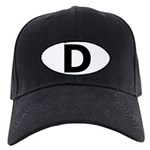 (D) Euro Oval Black Cap