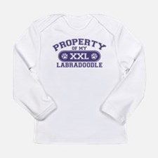 Labradoodle PROPERTY Long Sleeve Infant T-Shirt