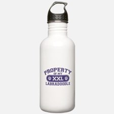 Labradoodle PROPERTY Water Bottle