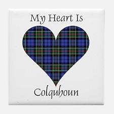 Heart - Colquhoun Tile Coaster