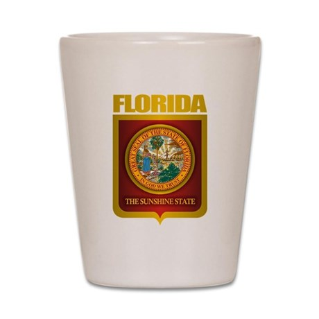 """Florida Gold"" Shot Glass"