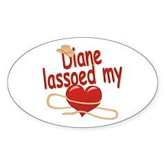 Diane Lassoed My Heart Decal