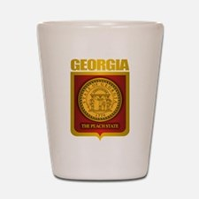 """Georgia Gold"" Shot Glass"