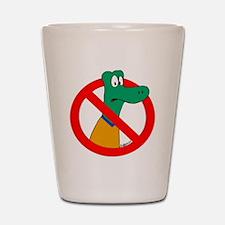 Anti-Gators Shot Glass