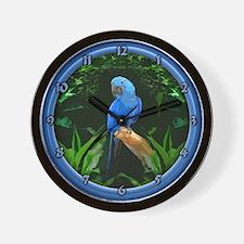 Cool Tropical bird Wall Clock