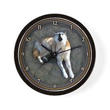 Cute Howling Wall Clock