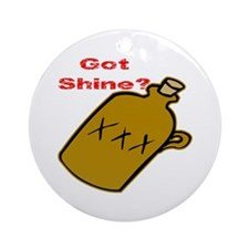 Got Shine? Ornament (Round)