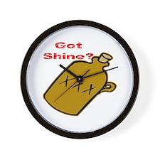 Got Shine? Wall Clock