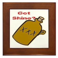 Got Shine? Framed Tile