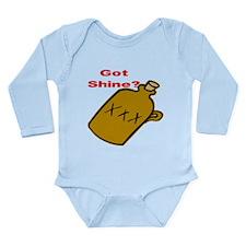 Got Shine? Long Sleeve Infant Bodysuit
