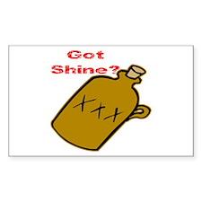 Got Shine? Decal